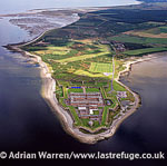 Fort George, Ardersier, is a large 18th century fortress near Inverness (artillery fortification), Lowlands, Scotland